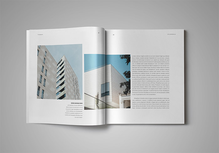 Coffee Table Book Template for InDesign