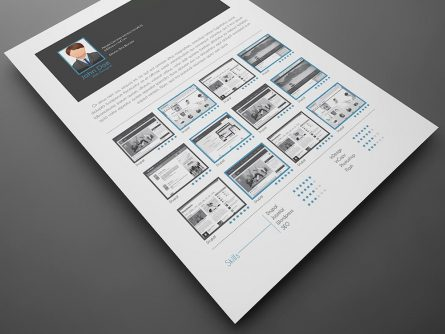 5 CV/Resume InDesign Templates