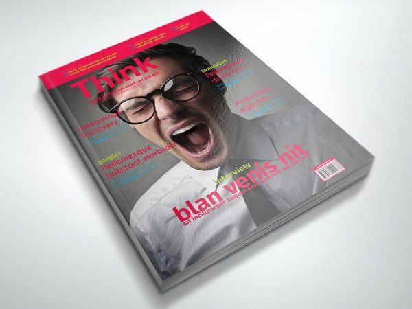 Magazine Template: Think