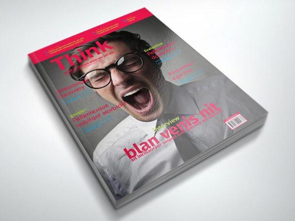 Magazine Template: Think