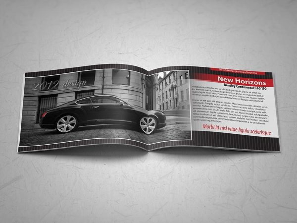 Brochure Template: Cars