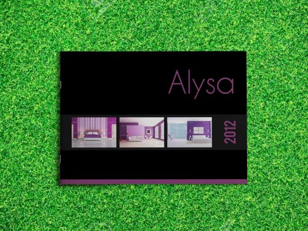 InDesign Catalog Template: Alysa