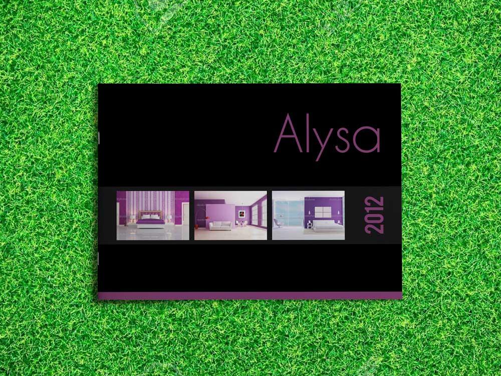 InDesign Catalog Template: Alysa