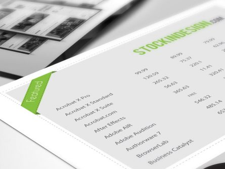 5 Awesome Table Styles for Adobe InDesign