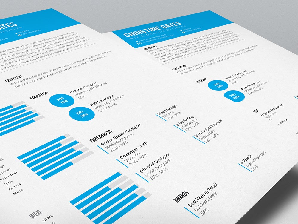 Clean Resume Template  Clean Resume Templates