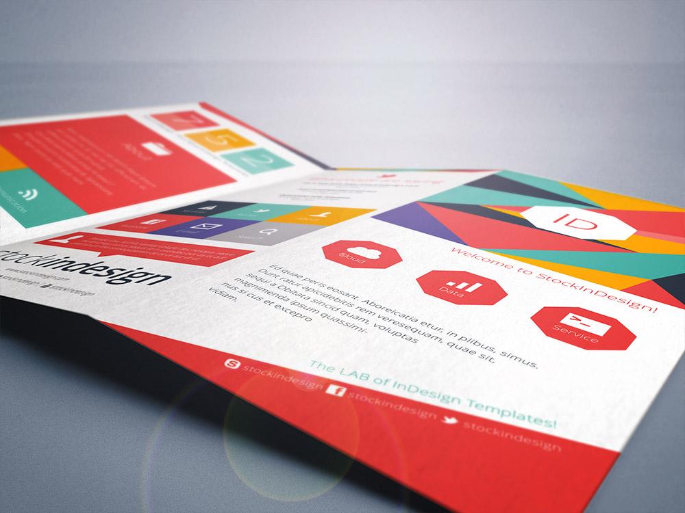 Flat Trifold Brochure