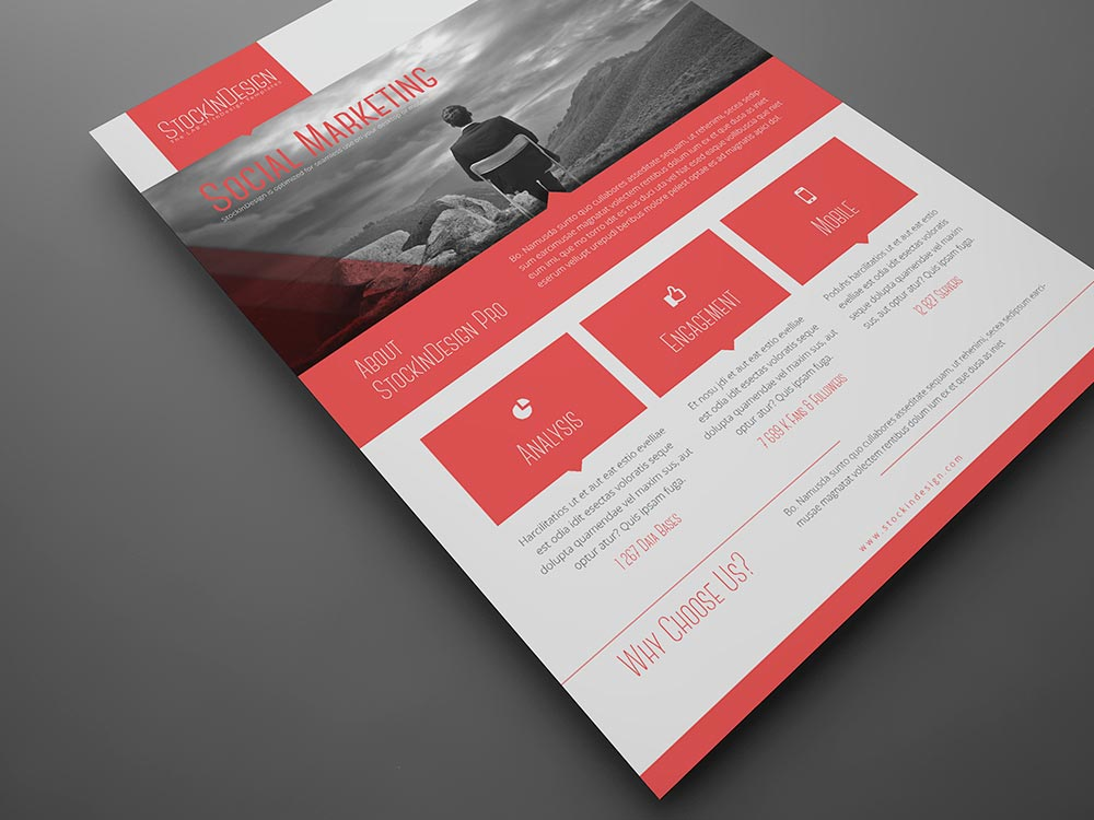 free indesign templates flyer - Roho.4senses.co