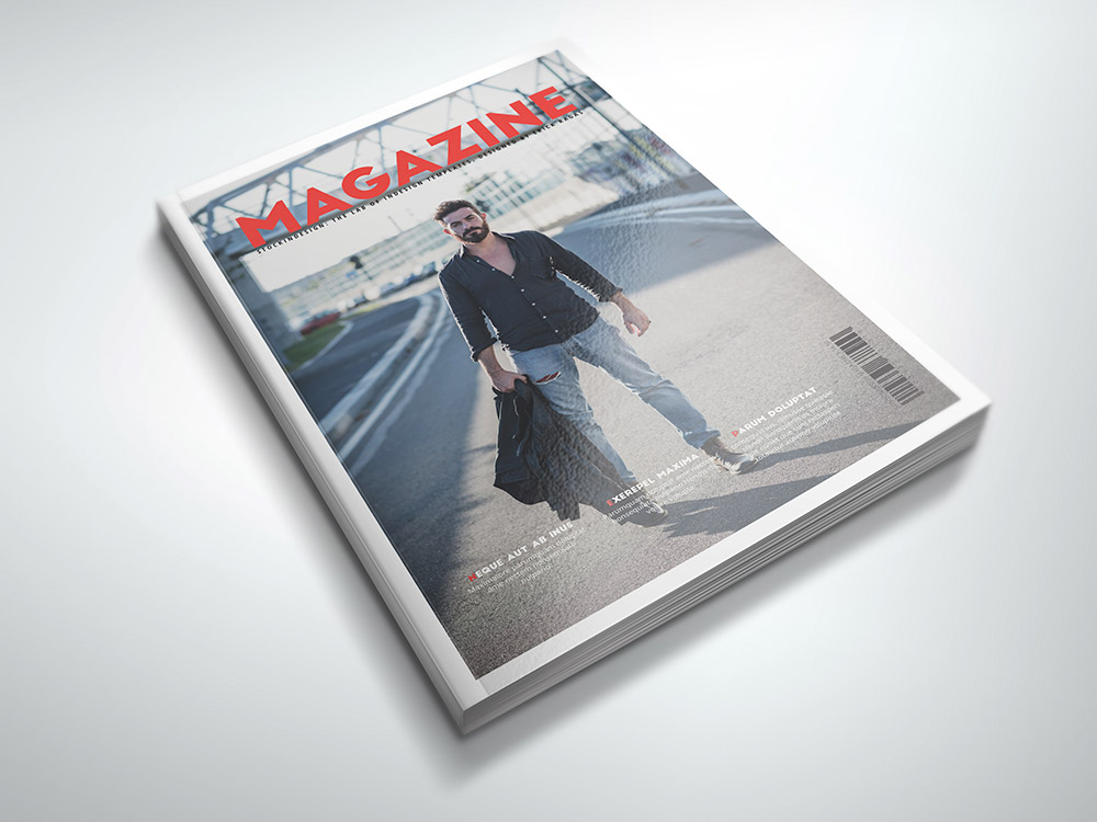 Fashion Magazine Template
