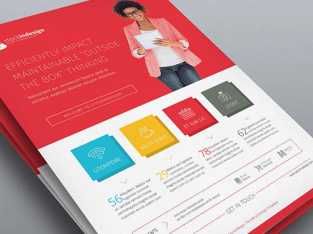 Corporate Flyer: Flat Design