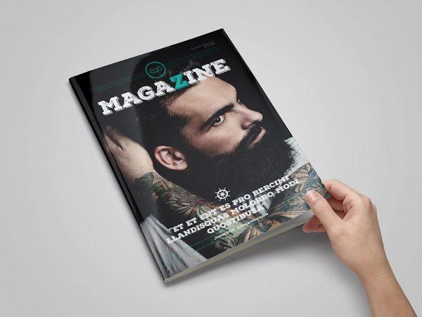 Rustic Magazine Template