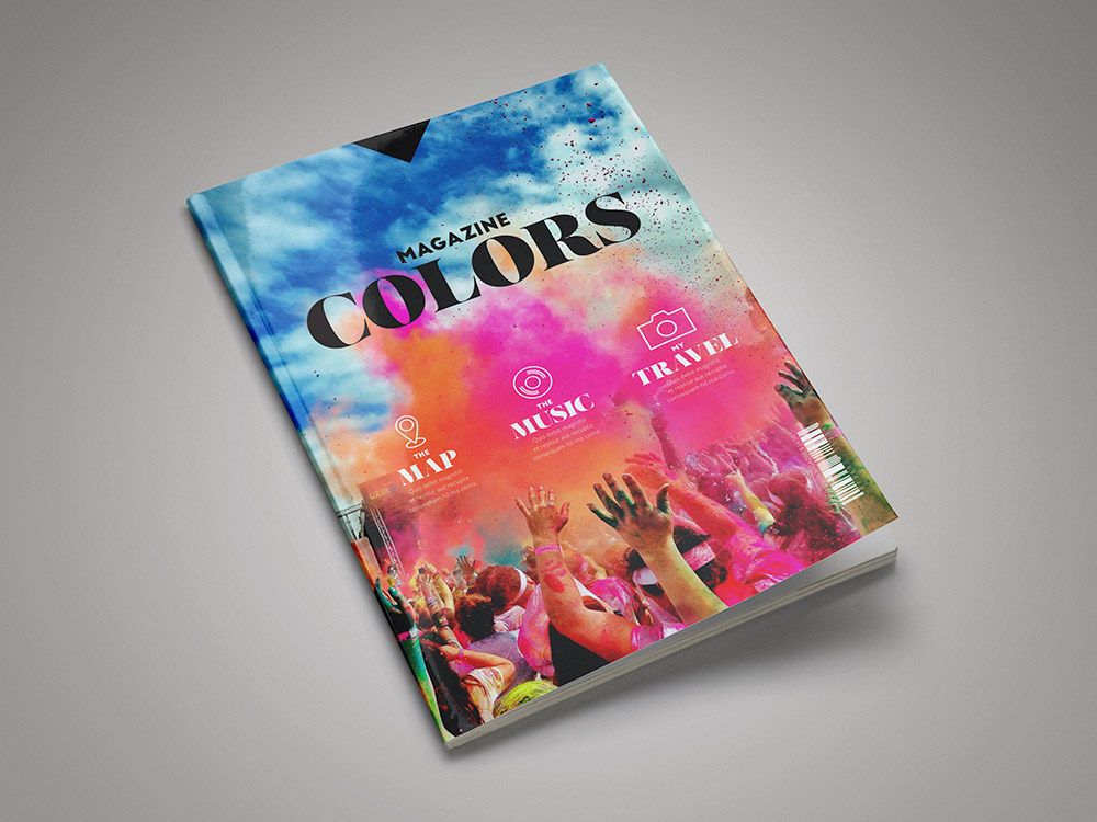 Colors Magazine Template