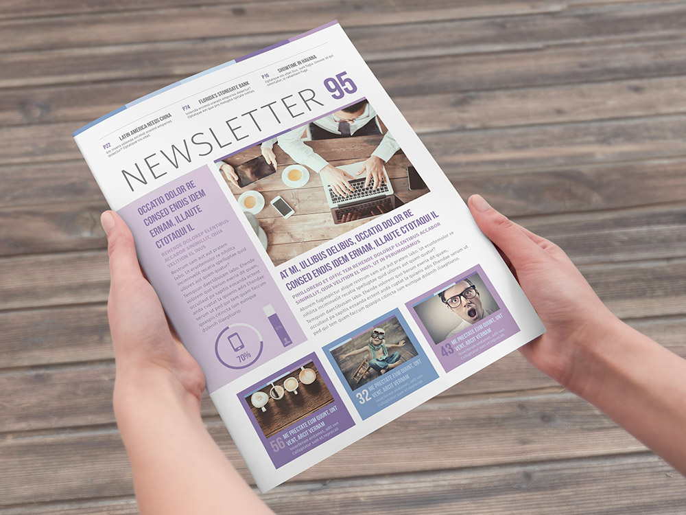 Multipurpose Newsletter Template  Stockindesign