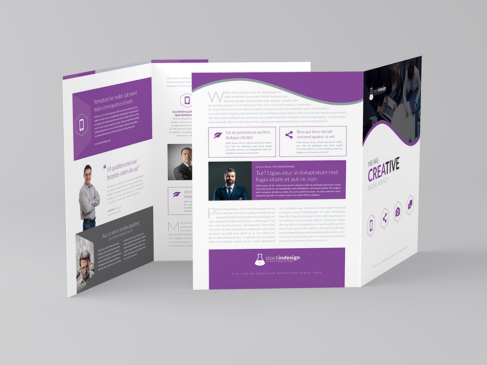 Bifold Brochure Corporate