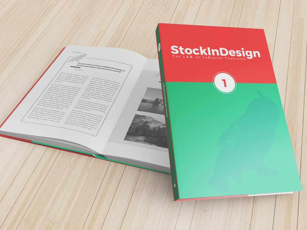 InDesign Book Template | StockInDesign
