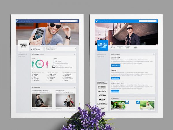 Social Media Kit: FanPage, Twitter and Youtube