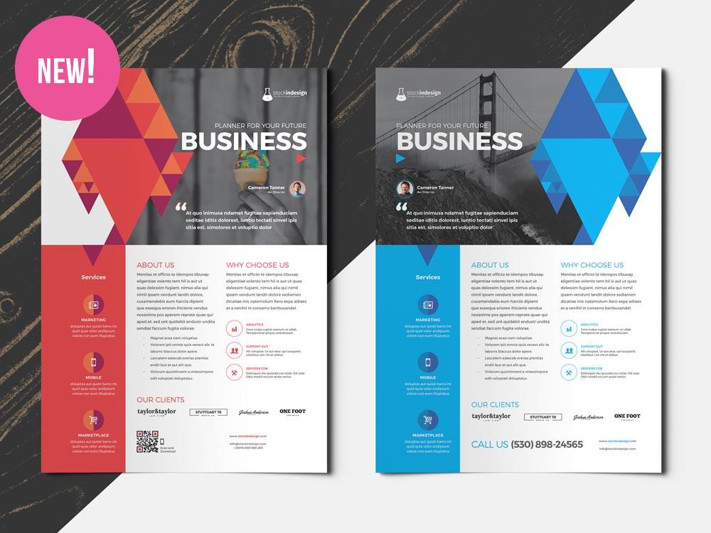 InDesign Flyer – Multipurpose (2 in 1)