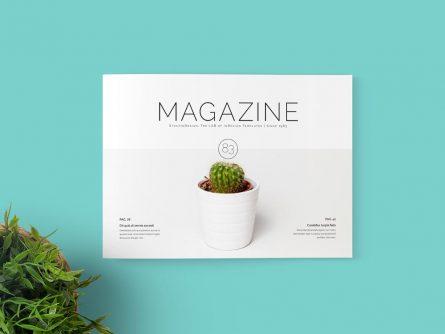 Multipurpose Landscape Magazine