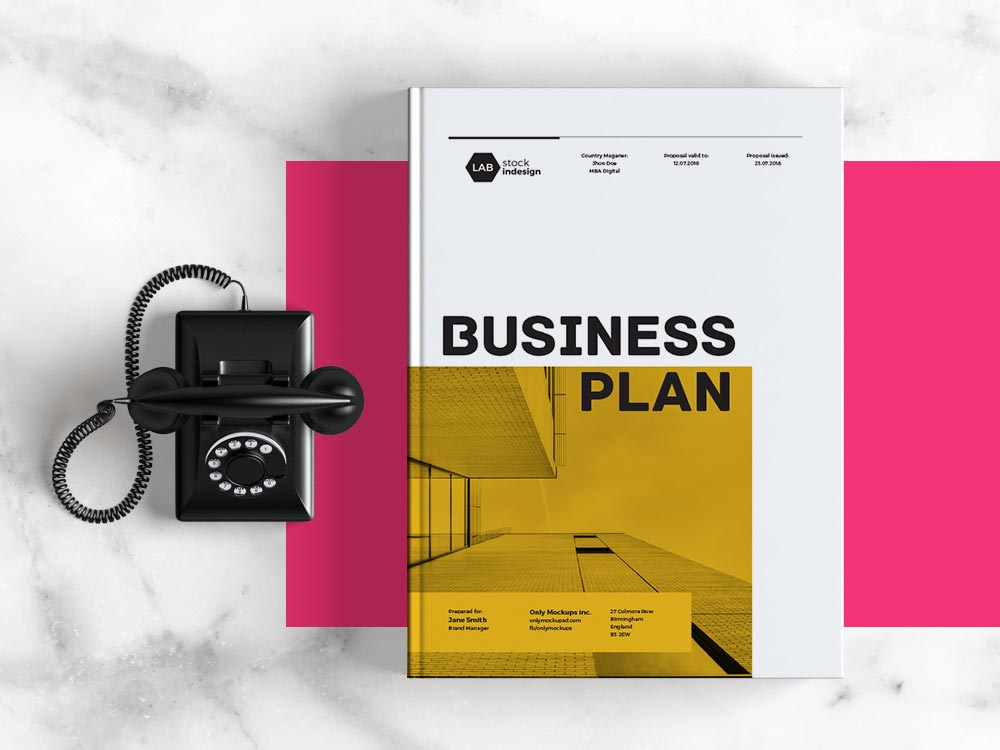 Business Plan Template  Adobe Indesign Template