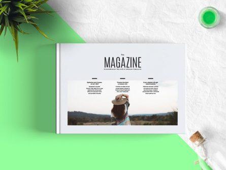FREE Minimal Magazine Landscape