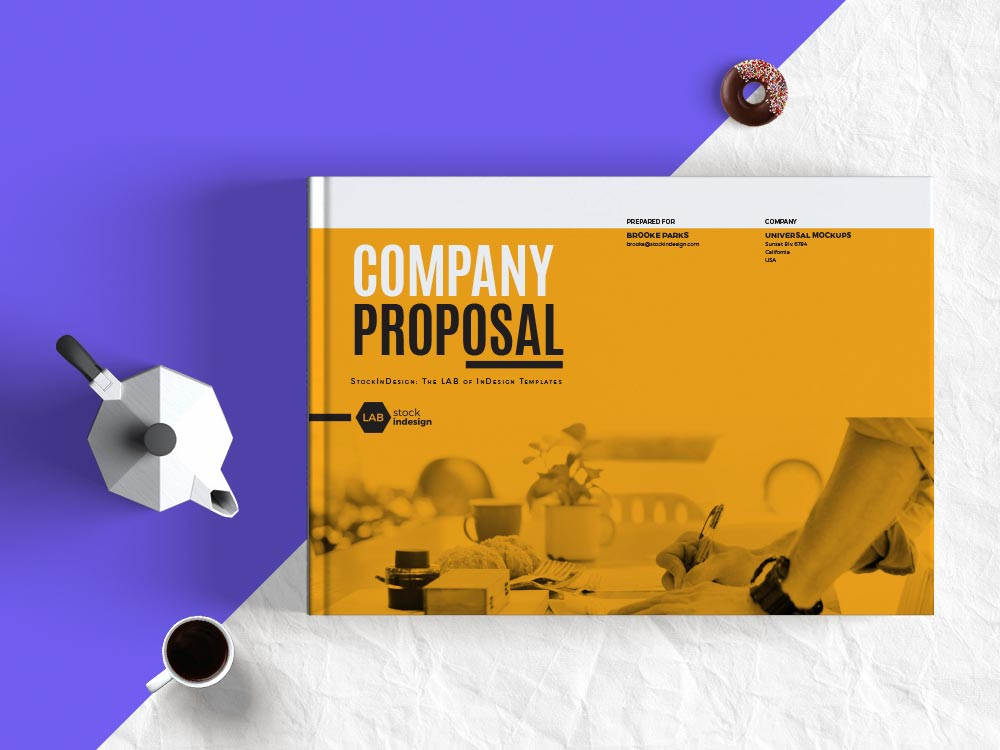 Company Proposal Landscape Template