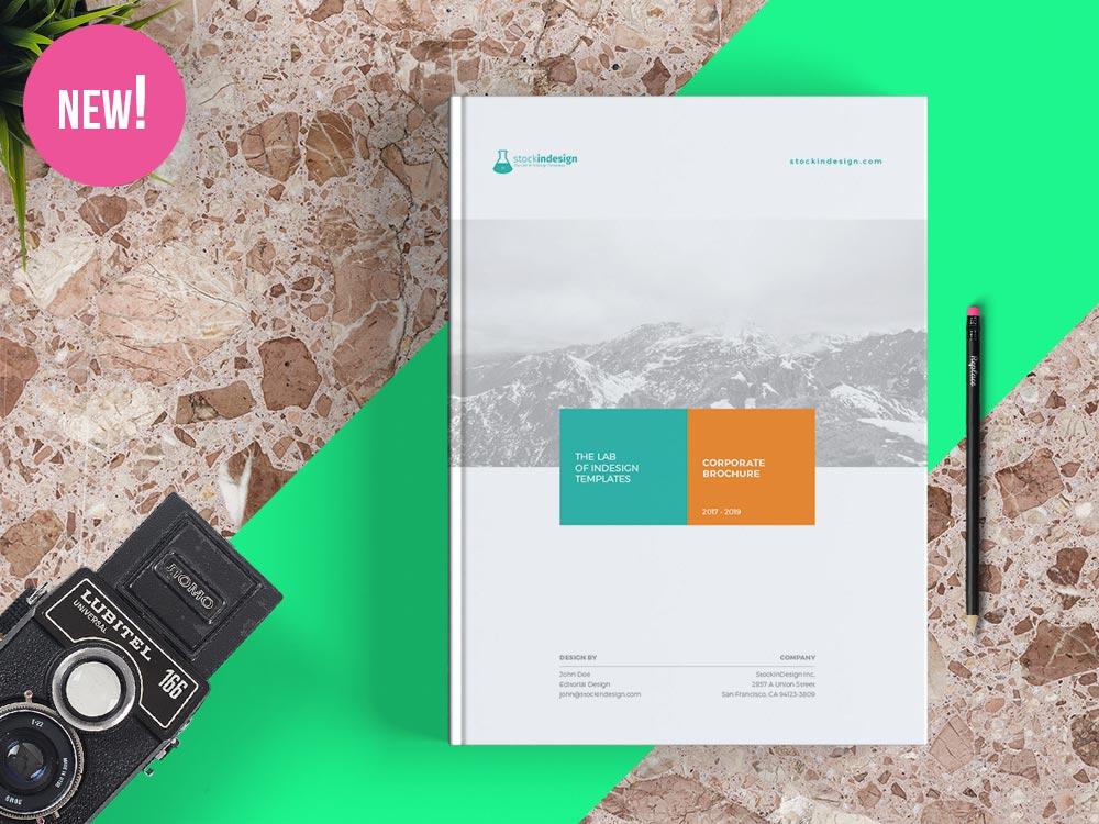 Creative Corporate Brochure Grey