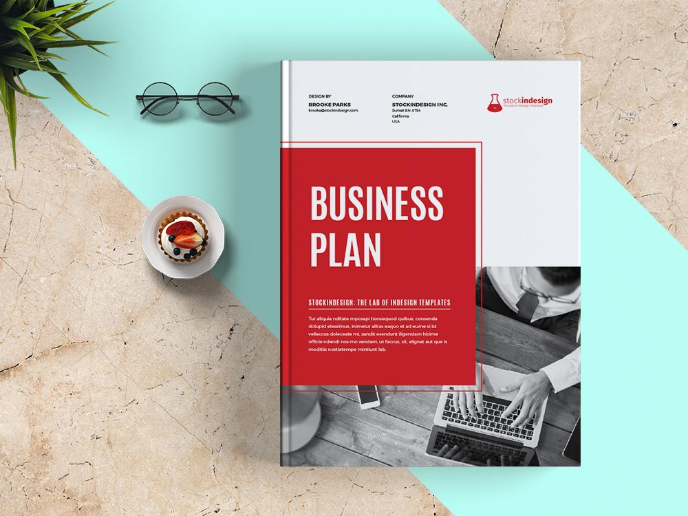 Business Plan Template Adobe Indesign Templates - Business plan template indesign