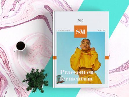 Magazine Minimalisme Template