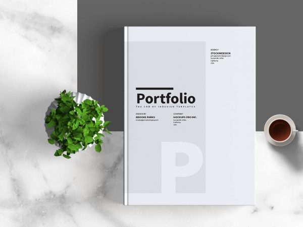 Portfolio Template for Adobe InDesign