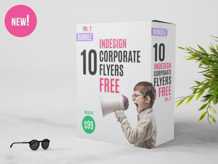 10 FREE InDesign Flyer Templates | Bundle Vol 2