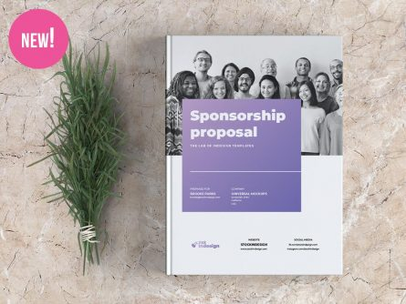 Sponsorship Proposal Template for InDesign