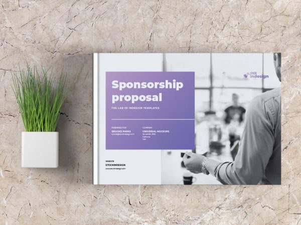 Landscape Sponsorship Proposal Template