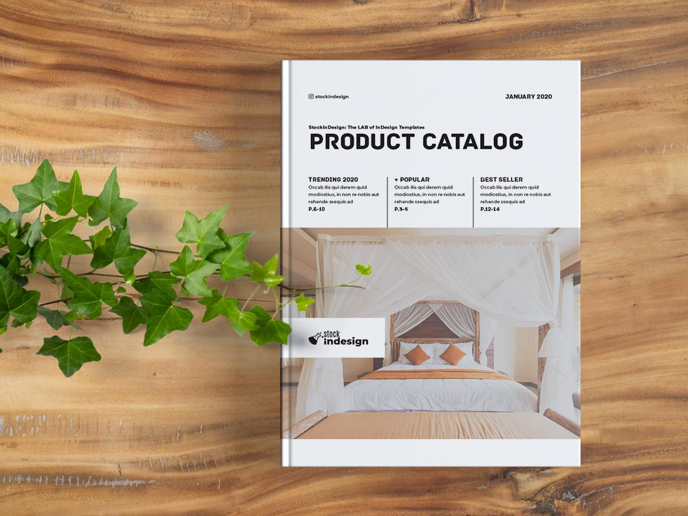 Product Catalog Template for InDesign