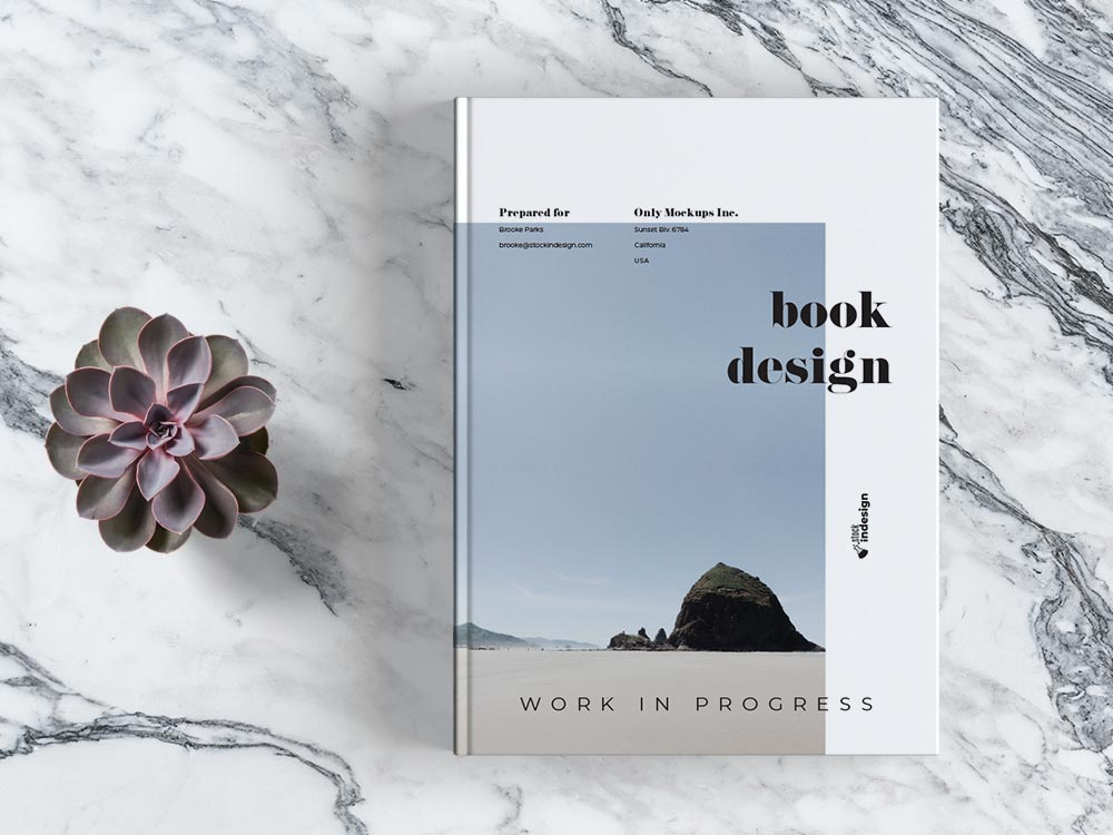 Work in progress: Book Design Template