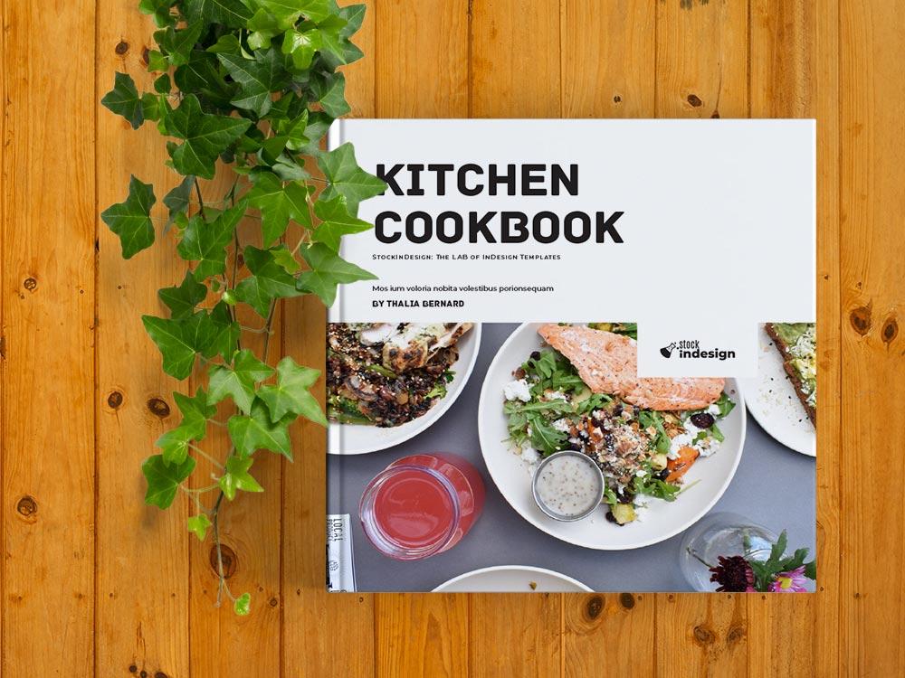 Square Cookbook / Recipe Book