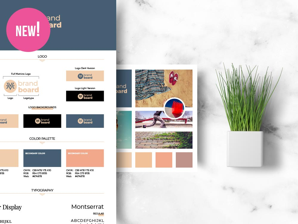 Brand Boards for Pinterest Instagram