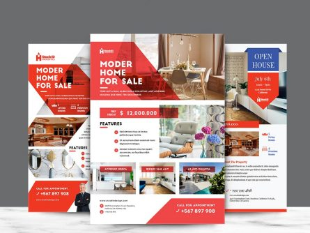 Real Estate Flyer in Adobe InDesign