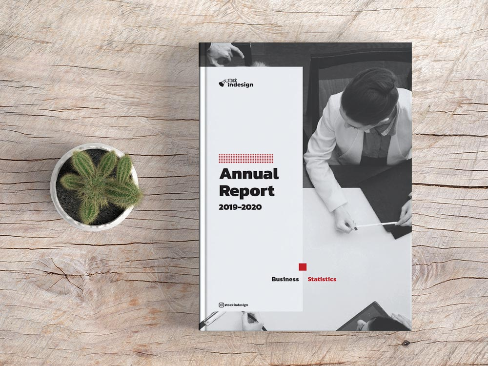 Elegant Annual Report Template