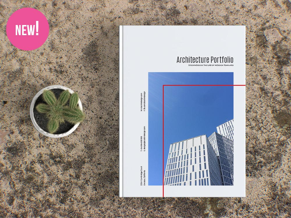 Architecture Portfolio Template For individual architects and interior designers