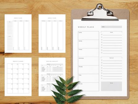 Printable Planner Template