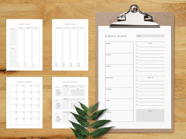 Free Printable Planner Template