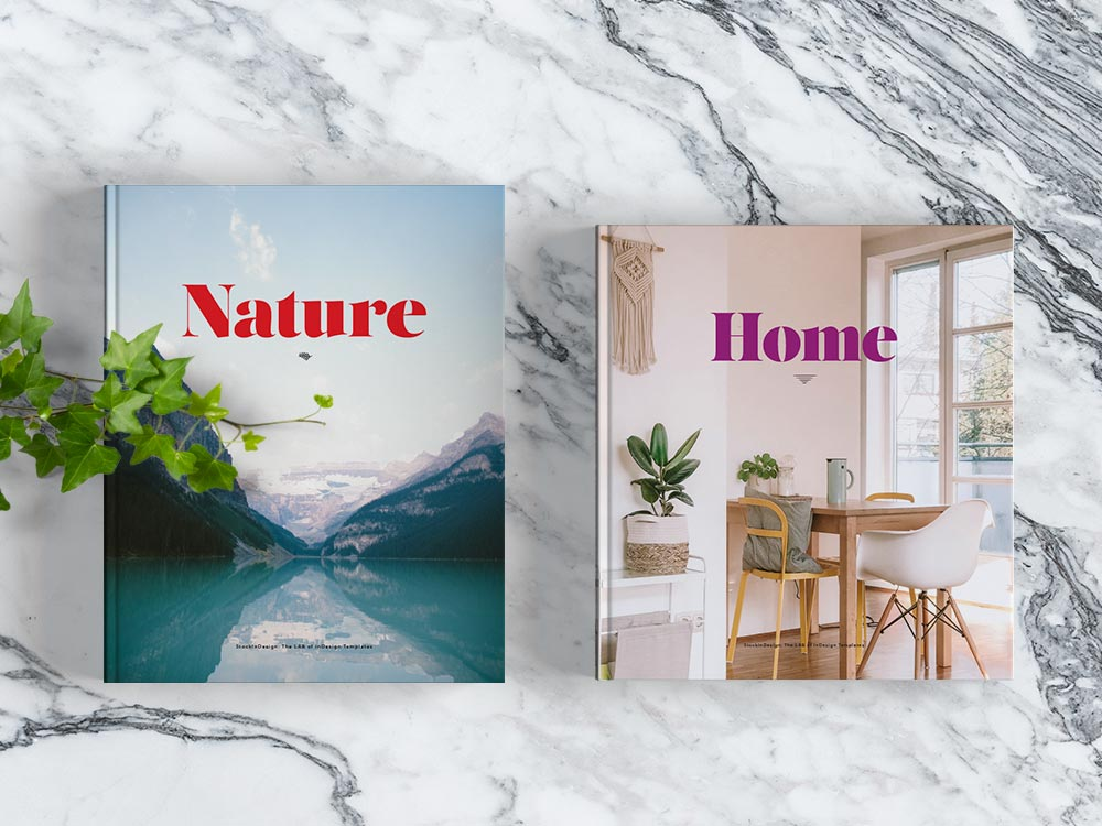 Coffee Table Book Template