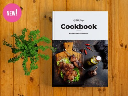 Cookbook Template for Adobe InDesign