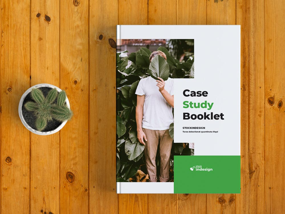 Case Study Booklet Template