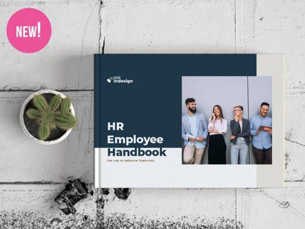HR / Employee Handbook Landscape Template