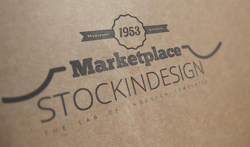 Vintage corporate flyer stockindesign for Stockindesign