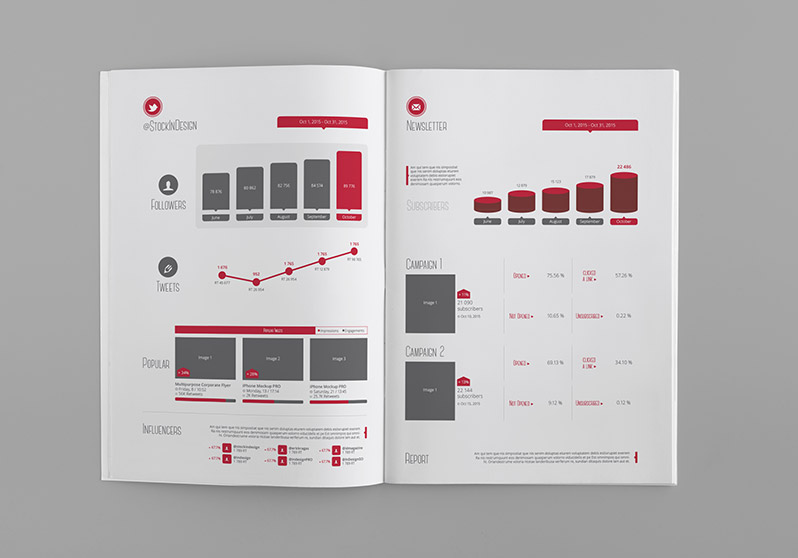 Social Media Reporting Templates Pasoevolistco - Social media report template