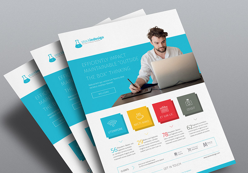 50 corporate flyer design inspiration for saudi companies