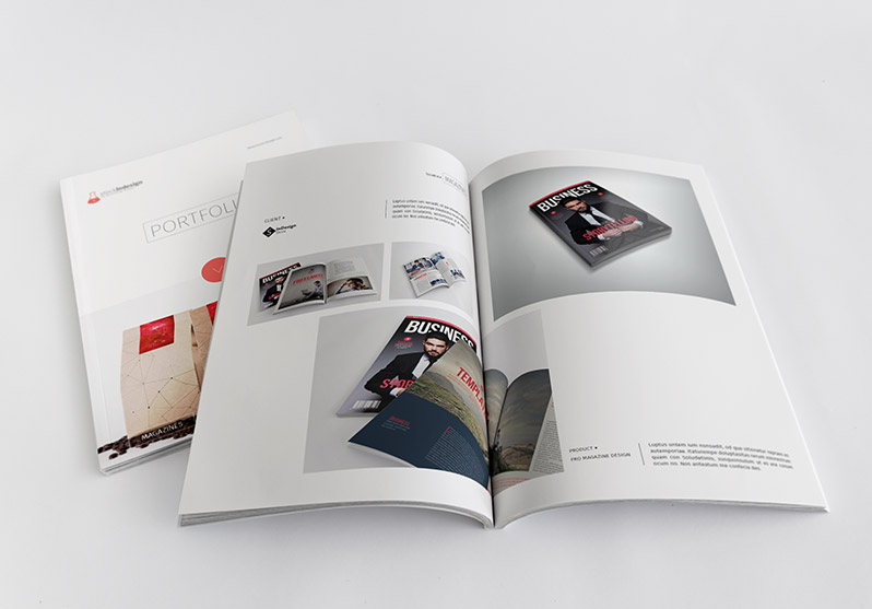 InDesign Clean Product Catalog
